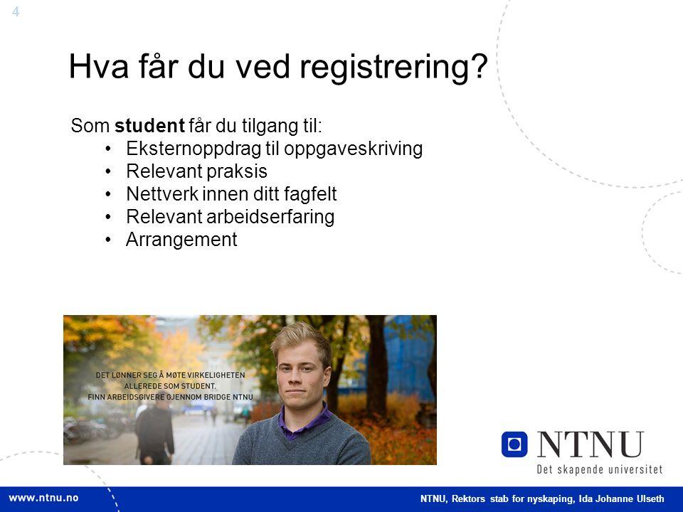 4 Hva får du ved registrering.