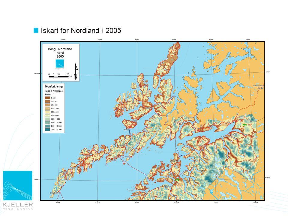 Iskart for Nordland i 2005