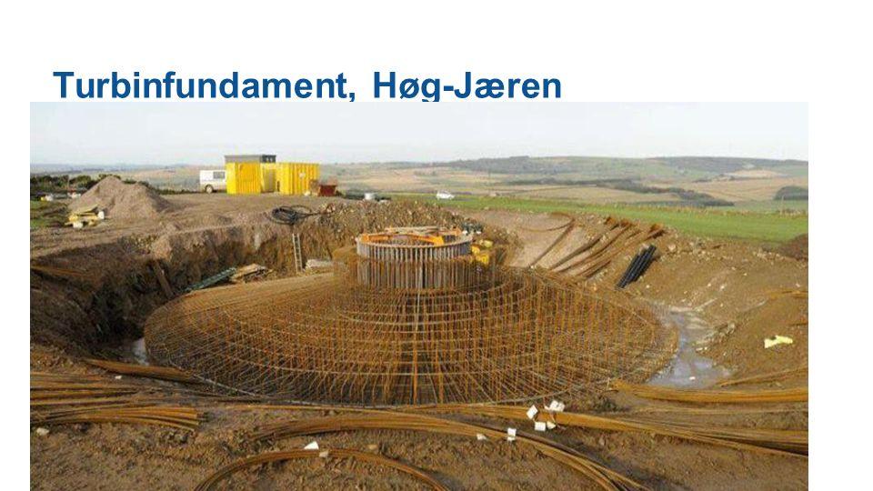 Turbinfundament, Høg-Jæren