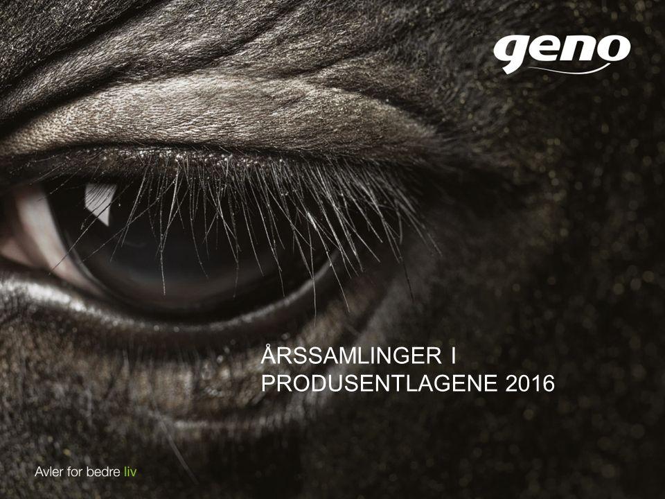 ÅRSSAMLINGER I PRODUSENTLAGENE 2016
