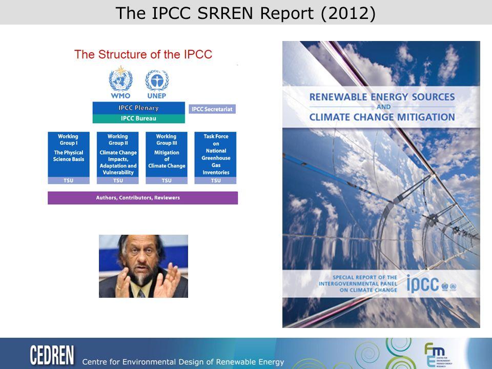 The IPCC SRREN Report (2012)