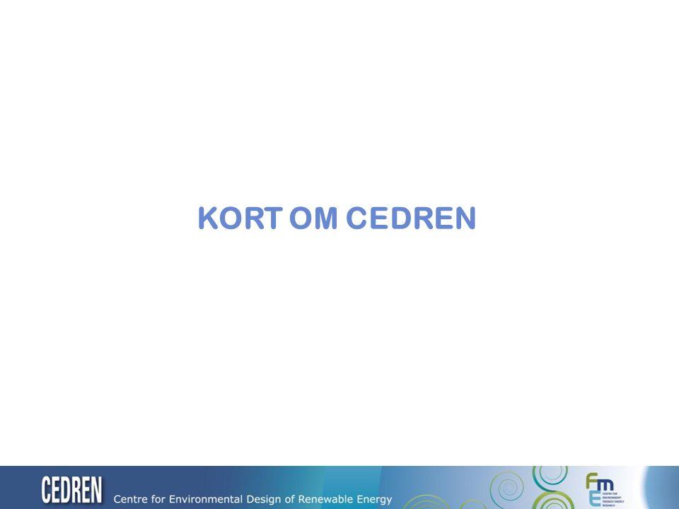 3 Centre for environmental design of renewable energy – CEDREN
