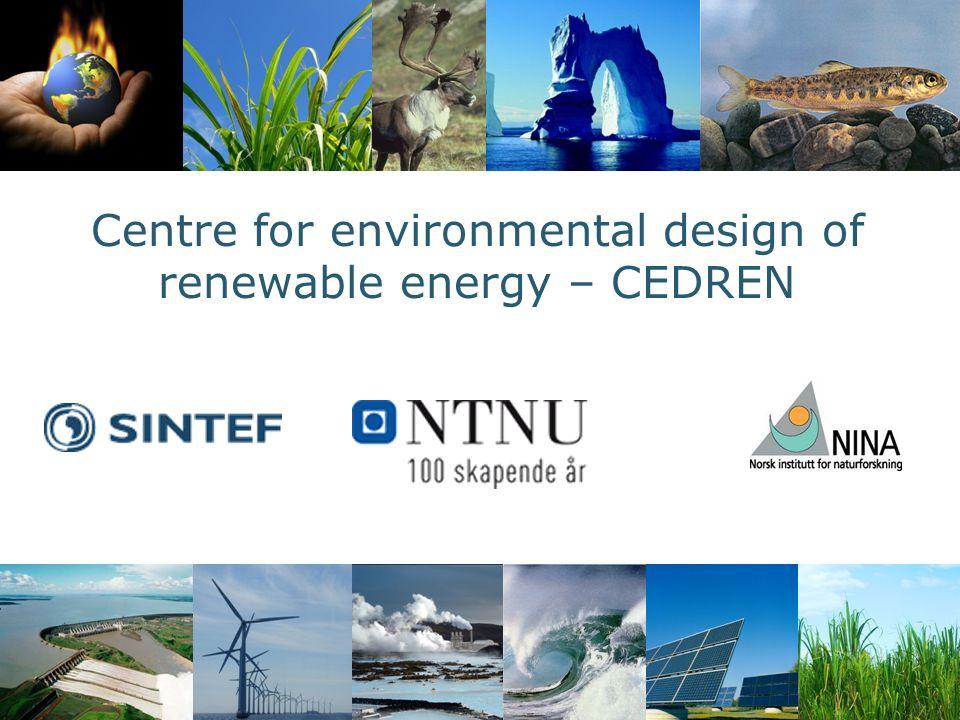 Vannkraftteknologi for framtida Miljødesign av vannkraft Miljøvirkninger av vindkraft og overføringslinjer Hvordan forene miljø- og energipolitiske hensyn.
