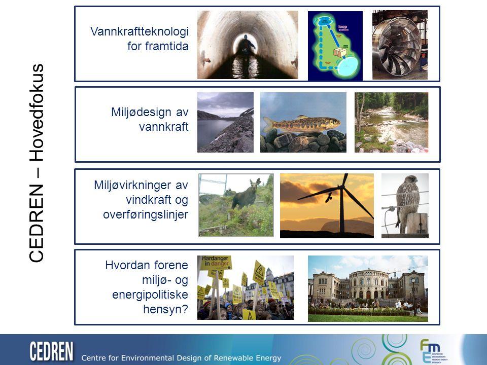 Energi «Payback» (EPR) for ulike teknologier EPR: Energy Payback Ratio
