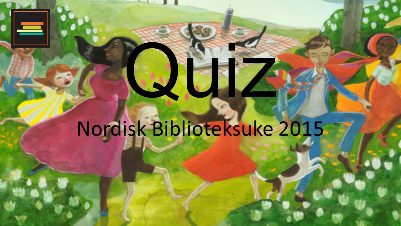 Quiz Nordisk Biblioteksuke 2015