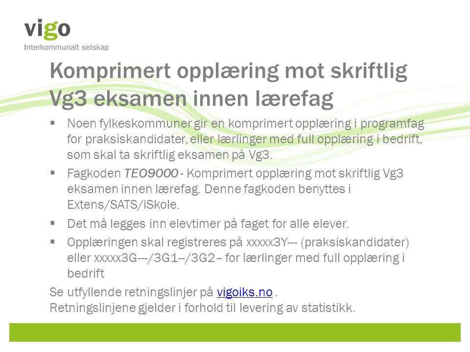 Minner om Søking om nye programområdekoder Frist:1.