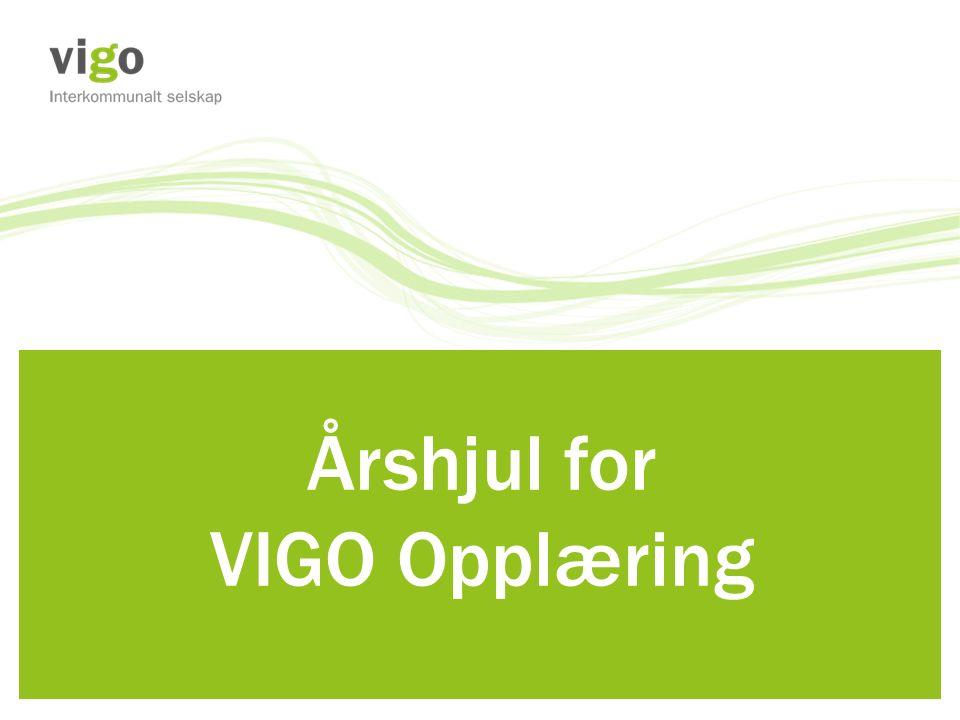 Årshjul for VIGO Opplæring