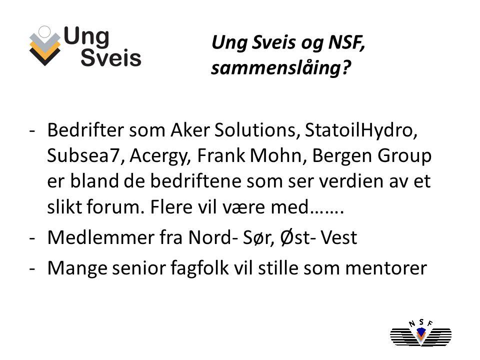 -NSF har en organisasjon med adm.