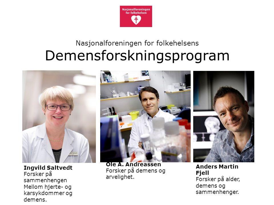 Anders Martin Fjell Forsker på alder, demens og sammenhenger.