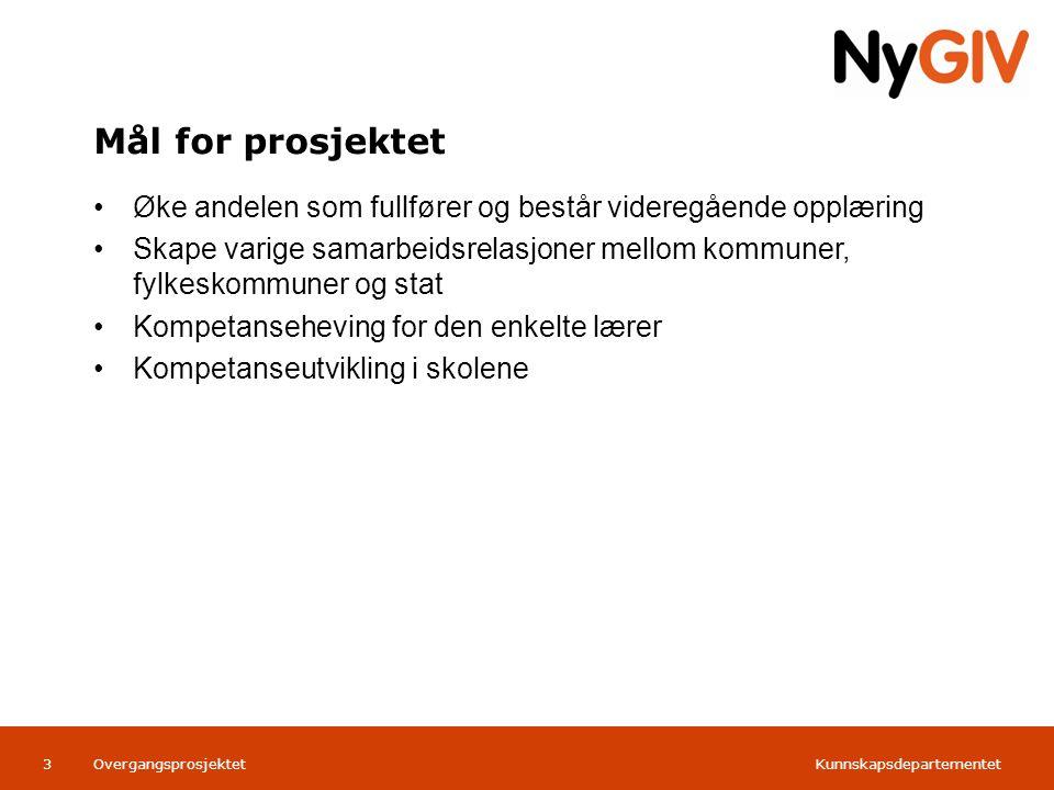 Kunnskapsdepartementet Norsk mal:Tekst med kulepunkter Tips bunntekst: For å få bort sidenummer, dato, samt redigere tittel på presentasjon: Klikk på Sett Inn -> Topp og bunntekst -> Huk av for ønsket tekst.