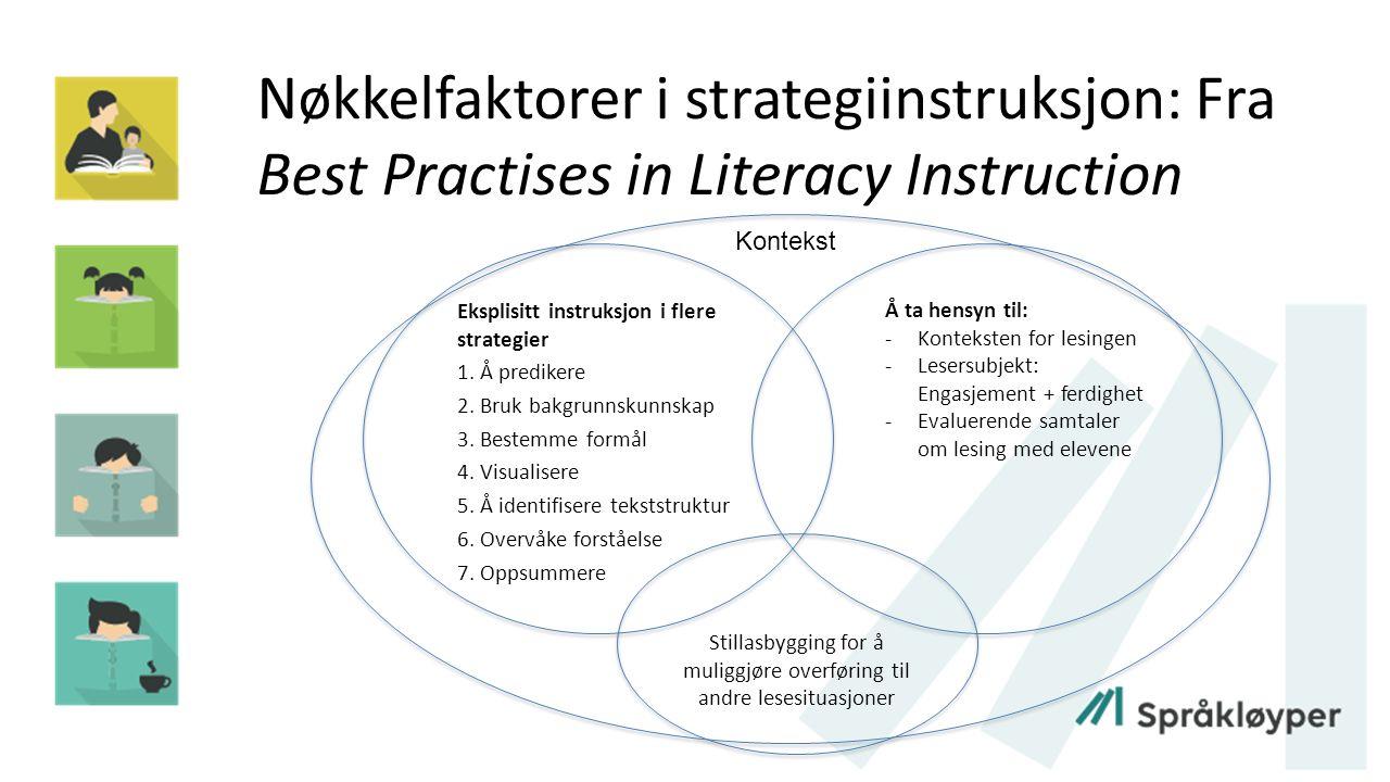 Hva er CORI.CORI - Concept Oriented Reading Instruction (J.