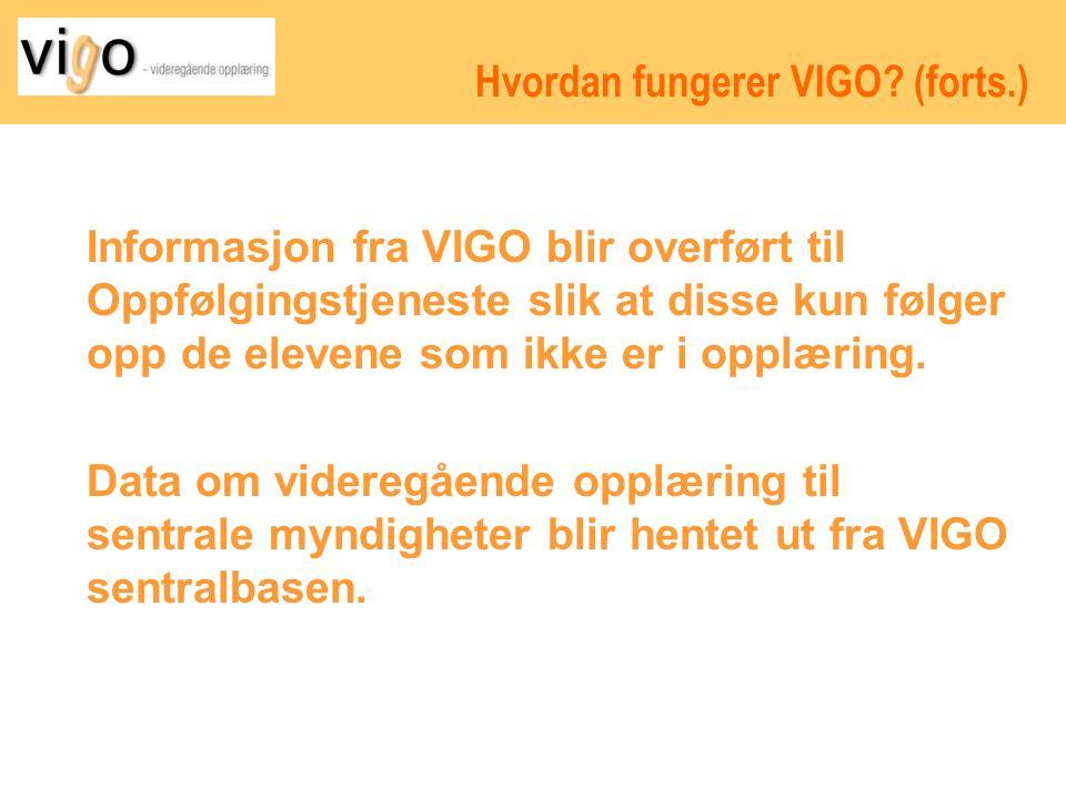 Hvordan fungerer VIGO.