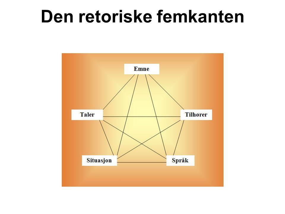 Den retoriske femkanten