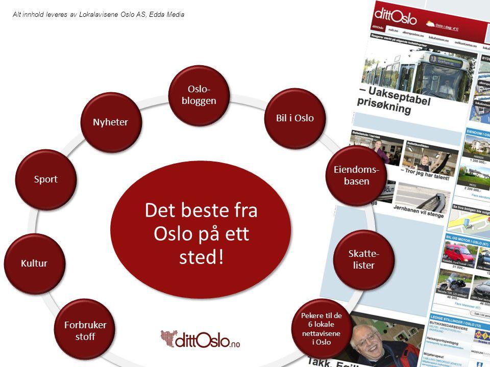 Alt innhold leveres av Lokalavisene Oslo AS, Edda Media