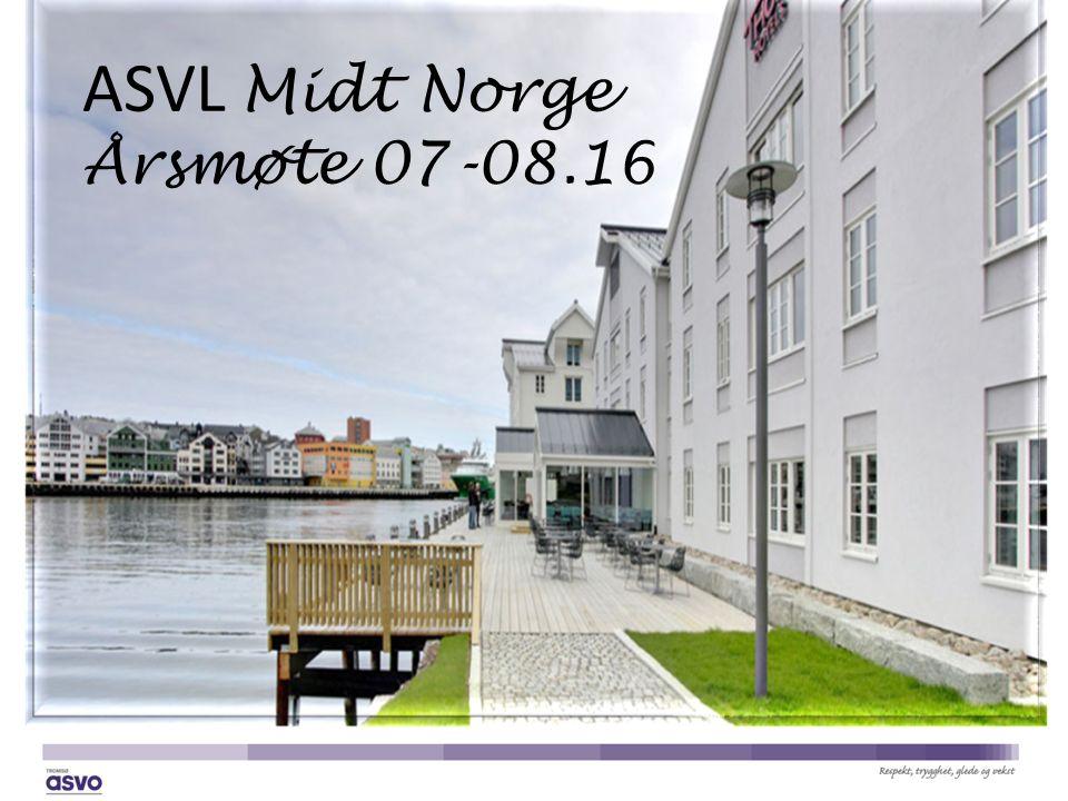 ASVL Midt Norge Årsmøte 07-08.16