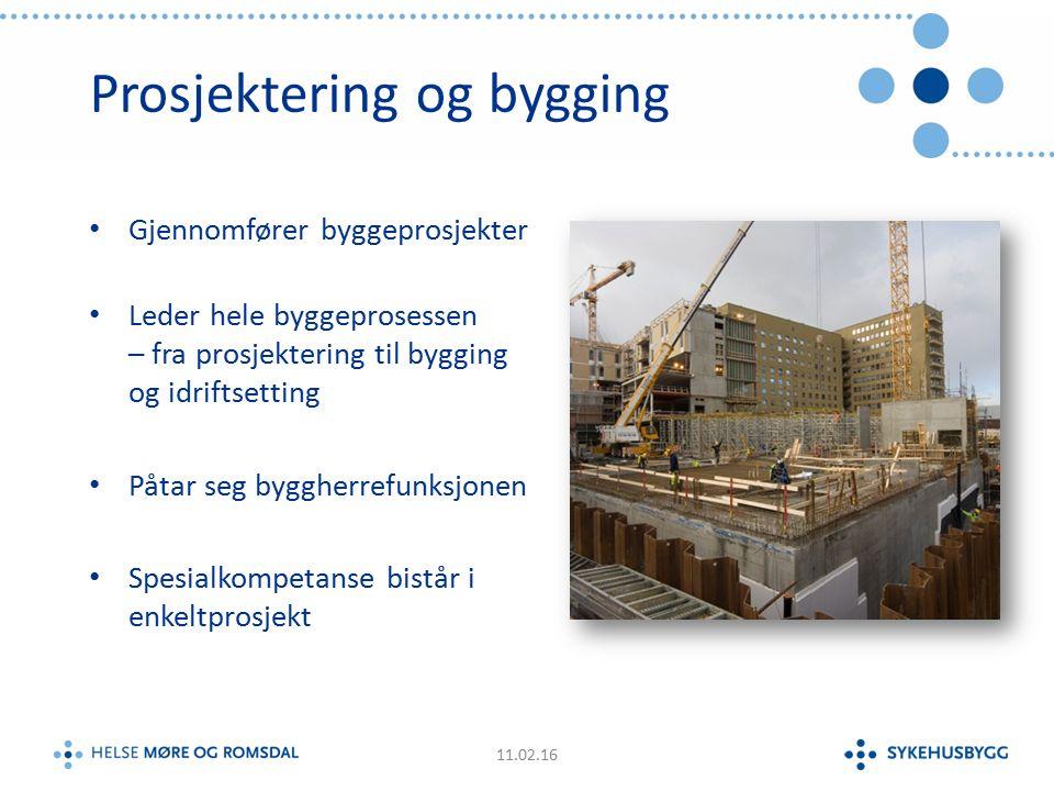 Norges største sykehusutbygging 226 000 kvm (brutto) – 10 års bygging Overlevert til rett tid, med høy kvalitet og 10 % under budsjett St.