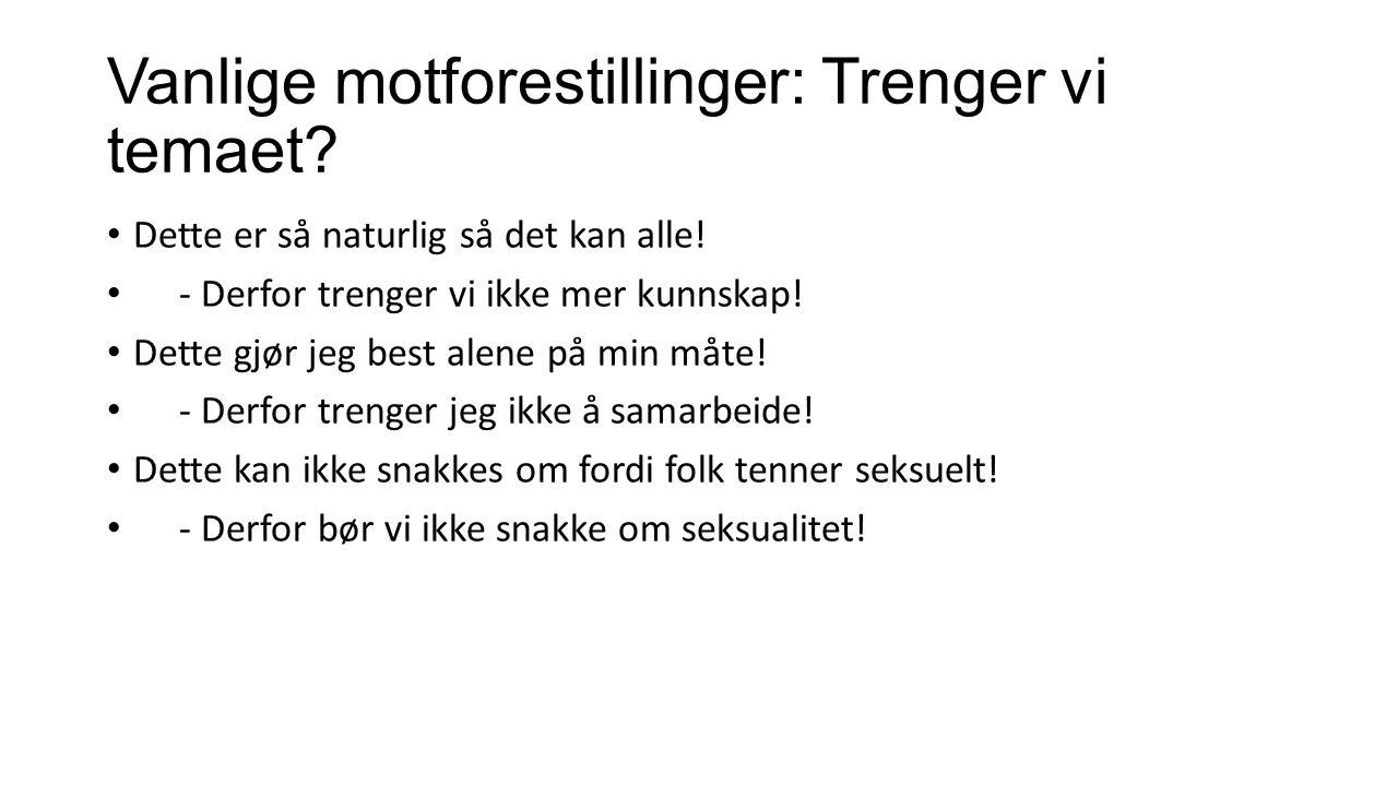Omfanget av seksuelle krenkelser og overgrep i en norsk ungdomsbefolkning, av Mossige, S.
