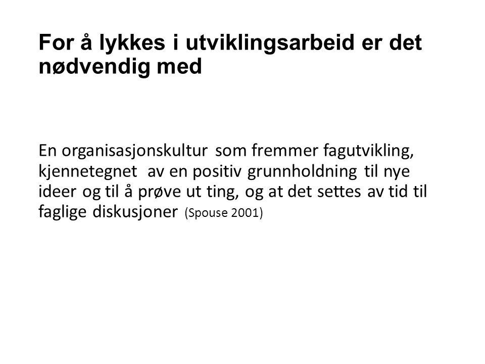 Referanser Helse- og omsorgsdepartementet (2009).St.meld.nr.47.