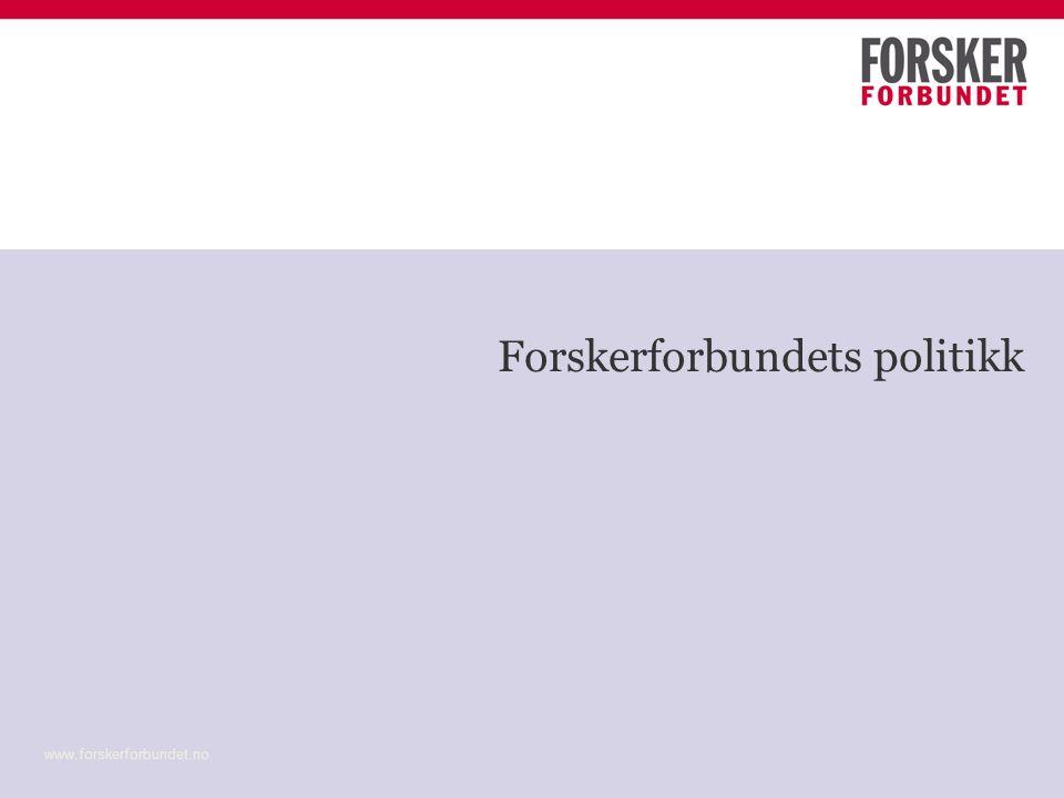 FF pol (1) FF ingen prinsipielle innvendinger mot større enheter Fusjoner må ha høyere faglig kvalitet som mål Målet må være å videreføre den faglige aktiviteten på minst samme nivå - og ingen ansatte skal sies opp.