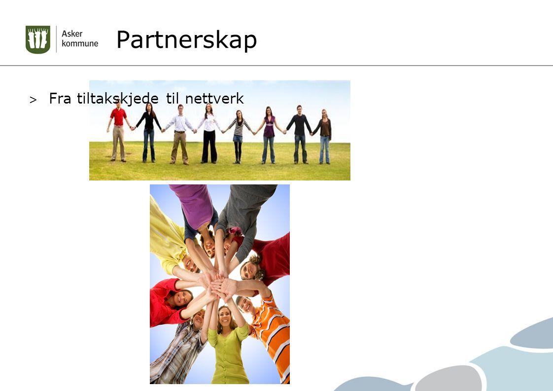 > Fra tiltakskjede til nettverk Partnerskap