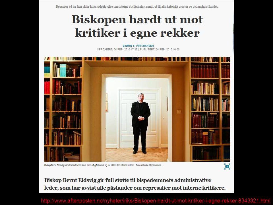 http://www.aftenposten.no/nyheter/iriks/Biskopen-hardt-ut-mot-kritiker-i-egne-rekker-8343321.html