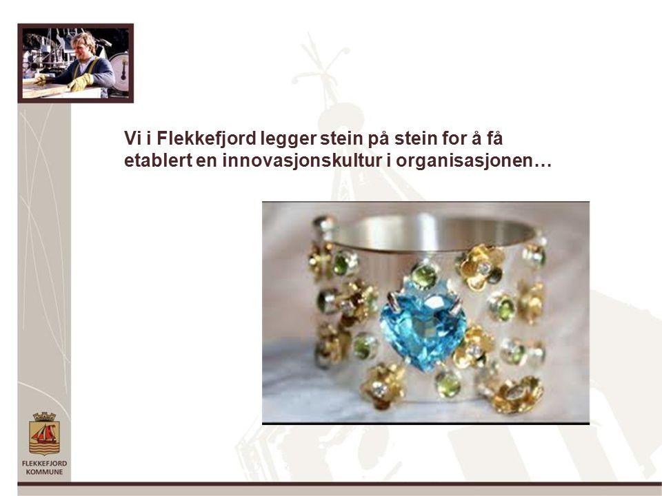 Vi i Flekkefjord legger stein på stein for å få etablert en innovasjonskultur i organisasjonen…