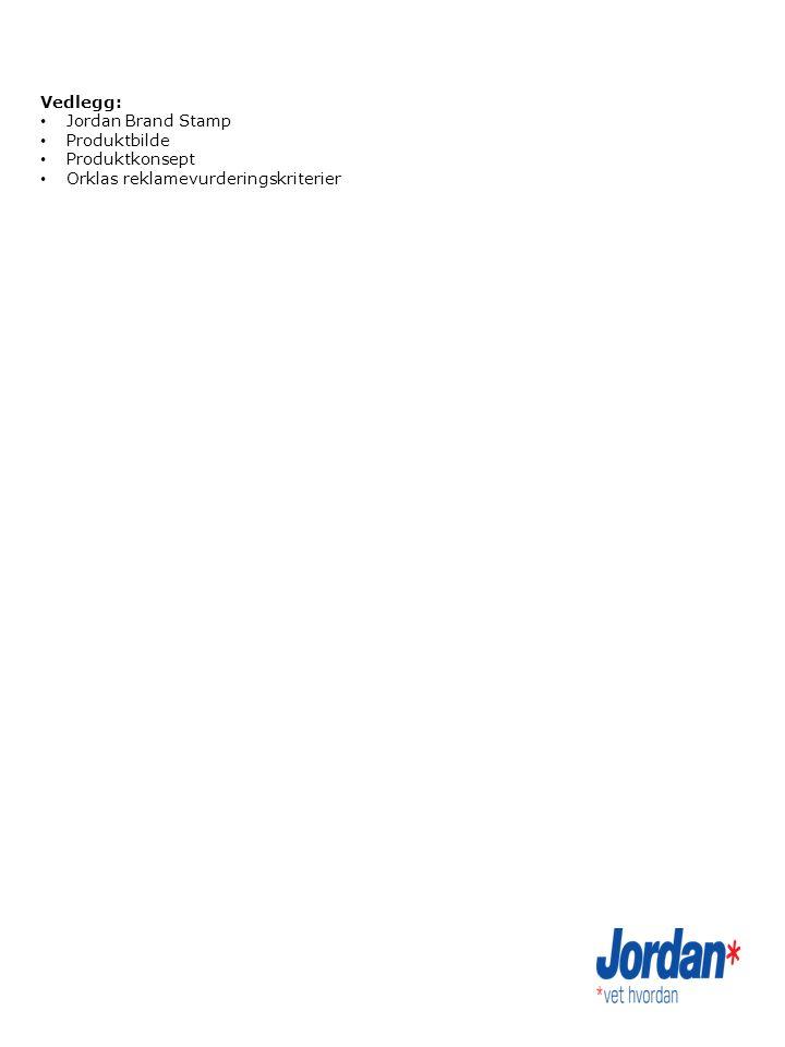 Vedlegg: Jordan Brand Stamp Produktbilde Produktkonsept Orklas reklamevurderingskriterier