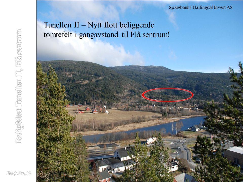 Sparebank1 Hallingdal Invest AS Tunellen II – Nytt flott beliggende tomtefelt i gangavstand til Flå sentrum!