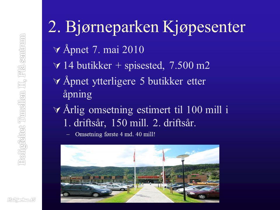 3.Thon Hotel Bjørneparken  Åpnet 7.