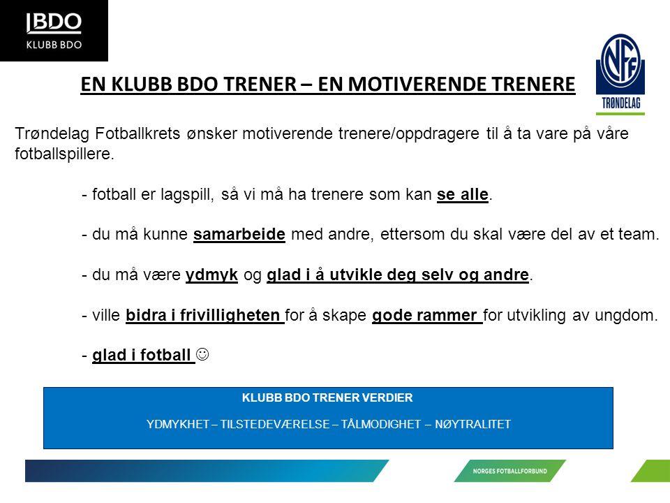 Trøndelag Fotballkrets ønsker motiverende trenere/oppdragere til å ta vare på våre fotballspillere.