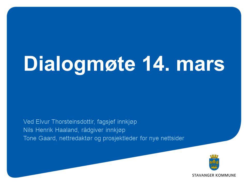 Dialogmøte 14.