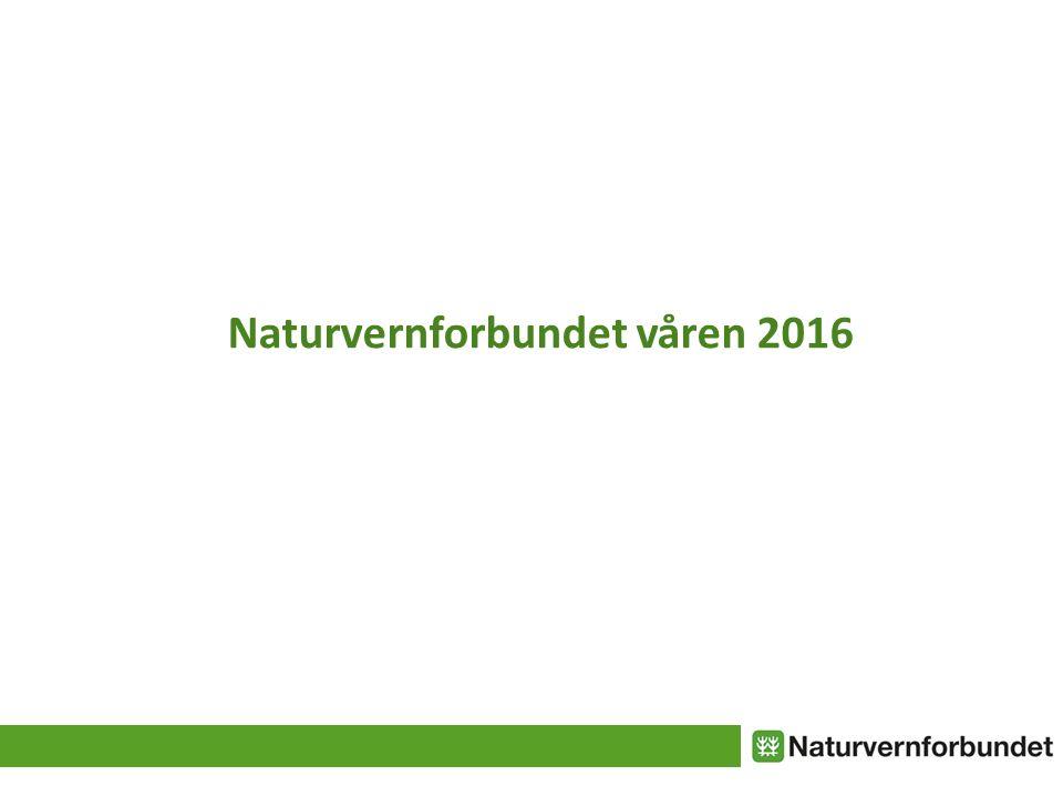 Naturvernforbundet våren 2016