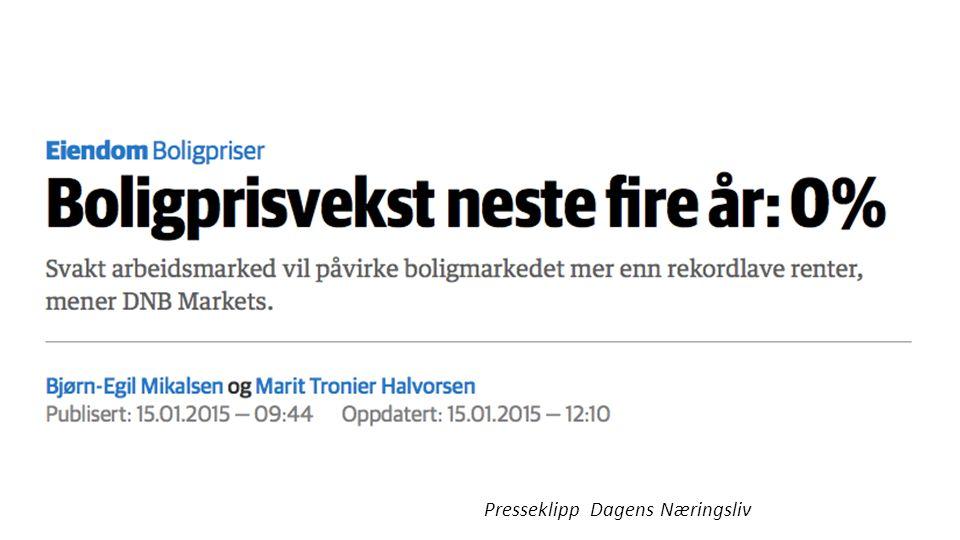 Presseklipp Dagens Næringsliv