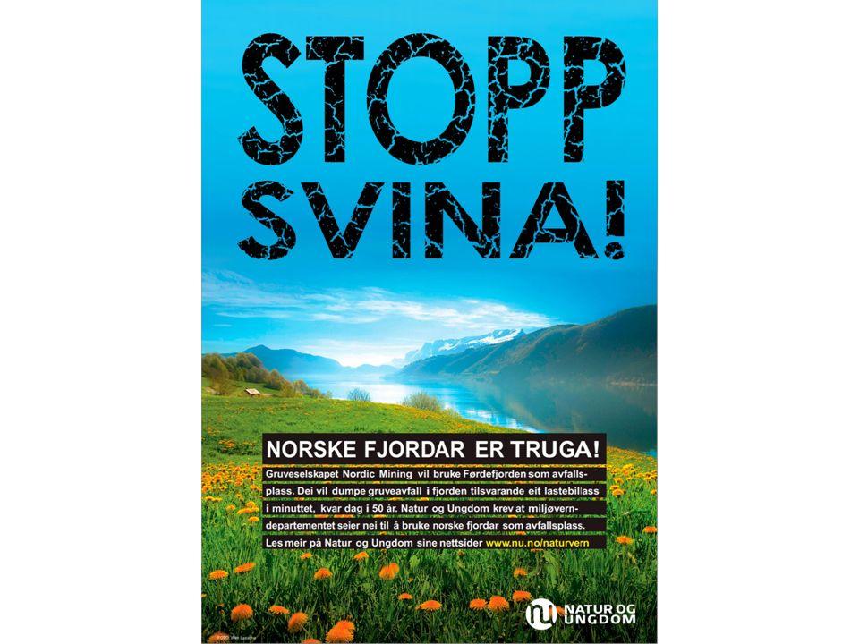 Norsk og nå en direkte oppfordring til handling. Forandrer det noe