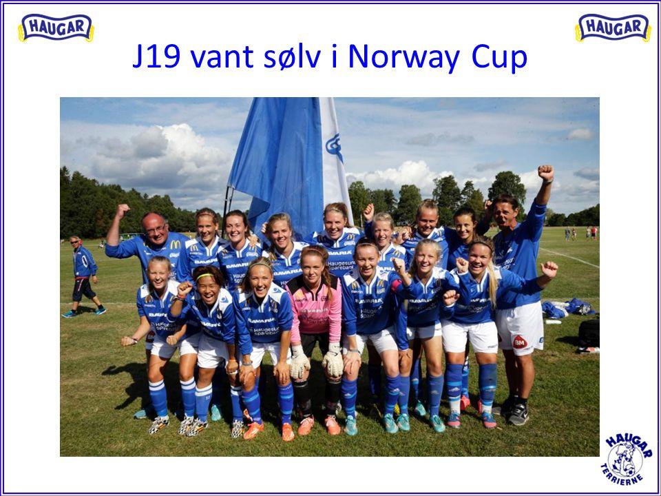 J19 vant sølv i Norway Cup