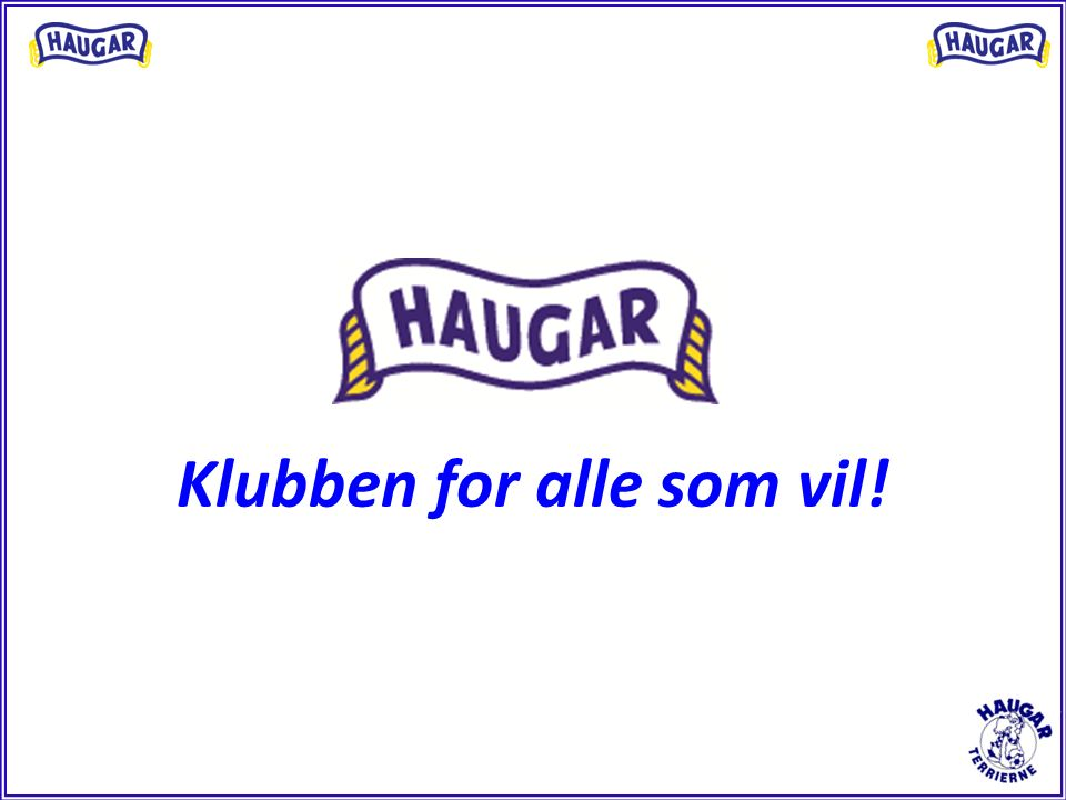 Klubben for alle som vil!