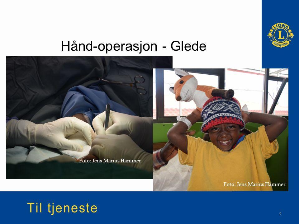 Hånd-operasjon - Glede 9 Foto: Jens Marius Hammer