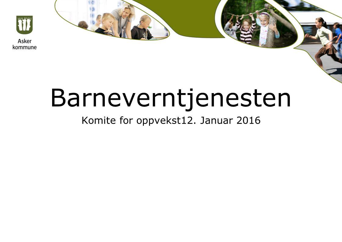 Barneverntjenesten Komite for oppvekst12. Januar 2016