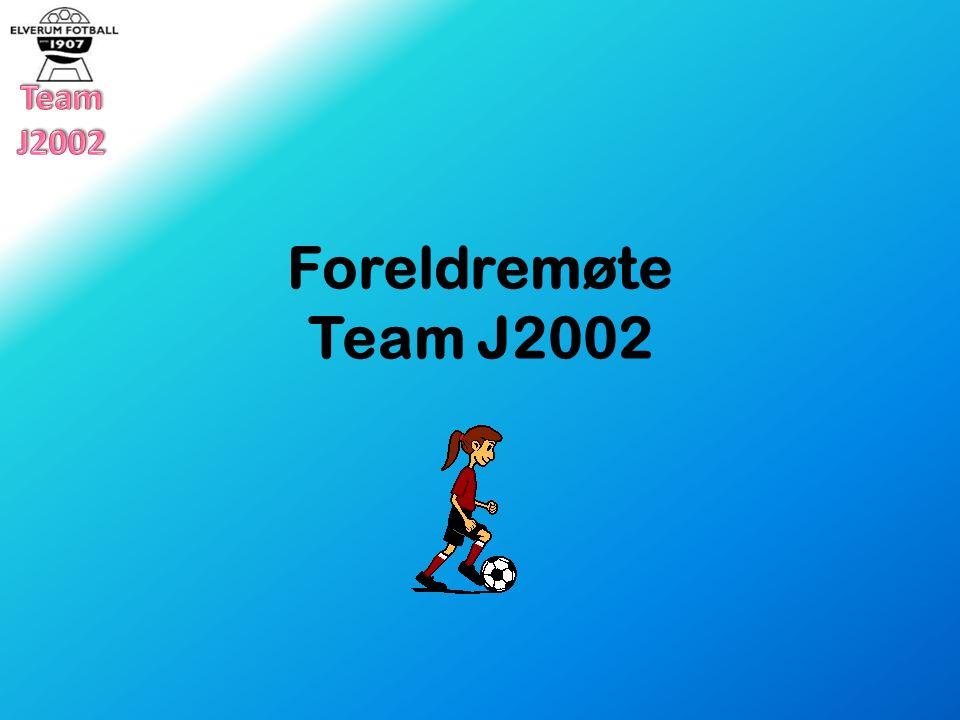 Foreldremøte Team J2002