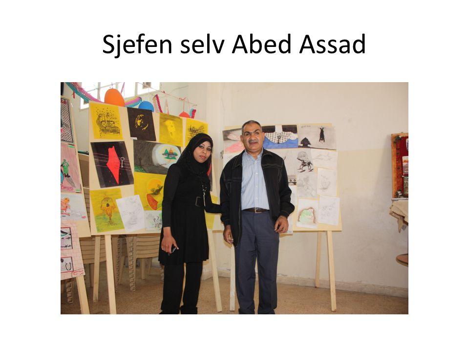 Sjefen selv Abed Assad