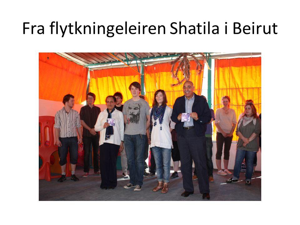 Fra flytkningeleiren Shatila i Beirut
