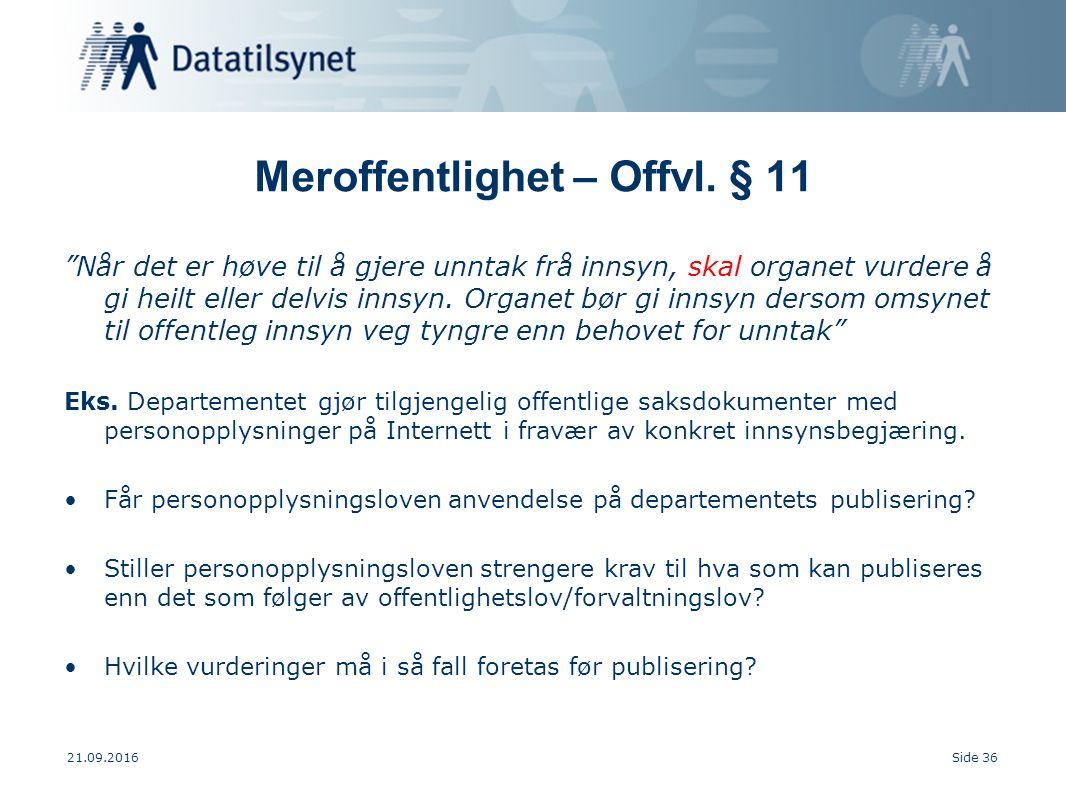 21.09.2016Side 36 Meroffentlighet – Offvl.