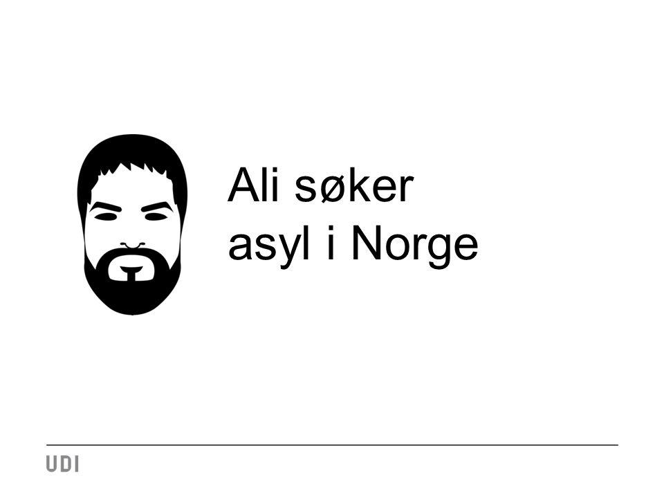 Ali søker asyl i Norge