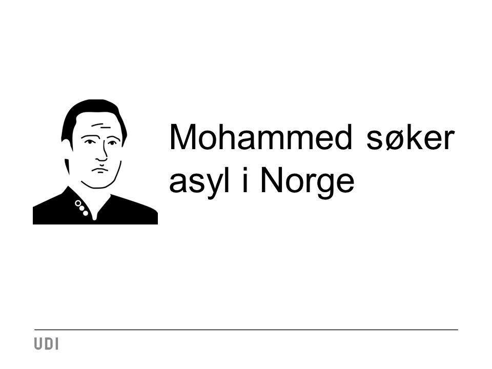 Mohammed søker asyl i Norge