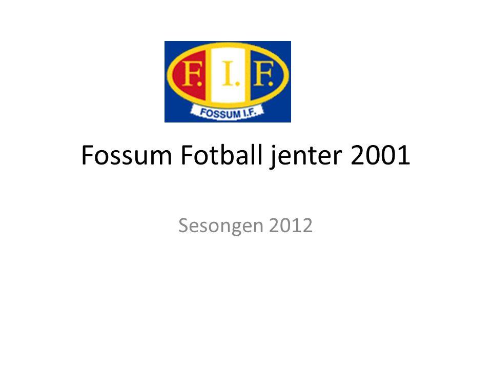 Fossum Fotball jenter 2001 Sesongen 2012