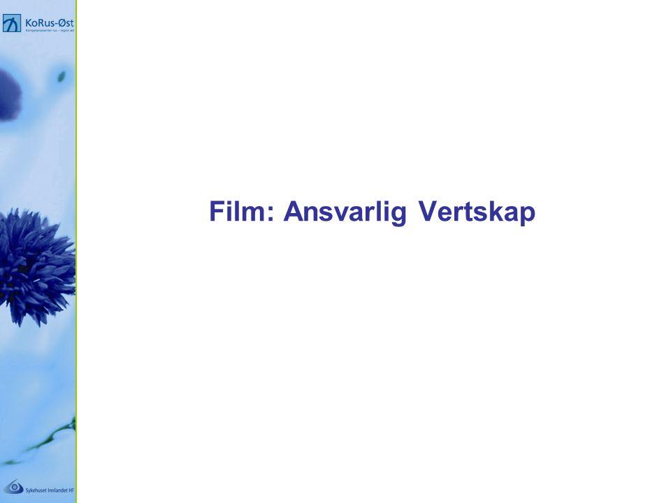 Film: Ansvarlig Vertskap
