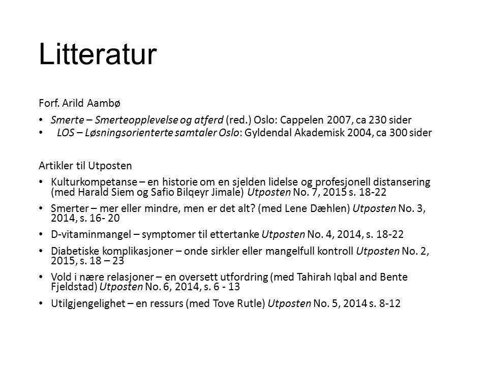 Litteratur Forf.