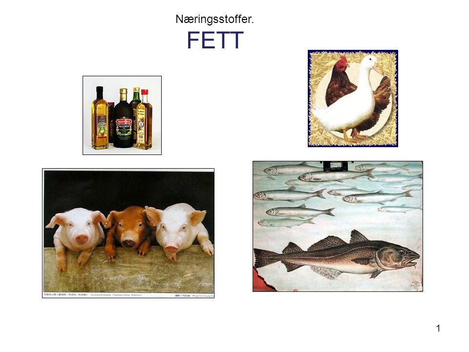 Næringsstoffer. FETT 1