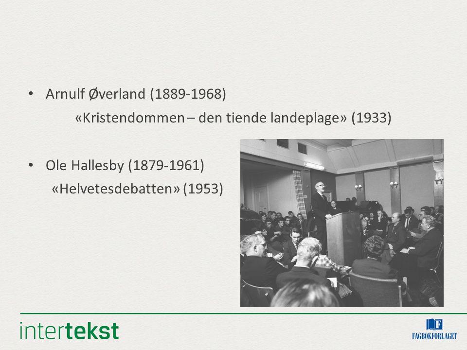To pionerar: Lise Lindbæk (1904-1961) krigsjournalist Åse Gruda Skard (1905-1985) barnepsykologi