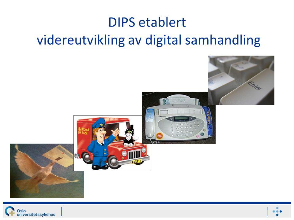 DIPS etablert videreutvikling av digital samhandling